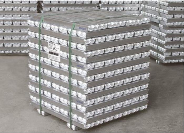 Leghe di alluminio pronte alla spedizione